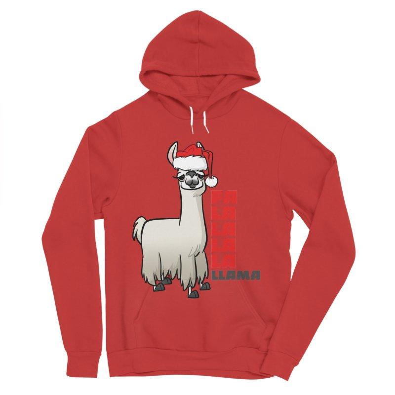 Fa La La Llama Men's Pullover Hoody by binarygod's Artist Shop
