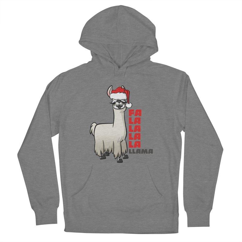 Fa La La Llama Women's Pullover Hoody by binarygod's Artist Shop