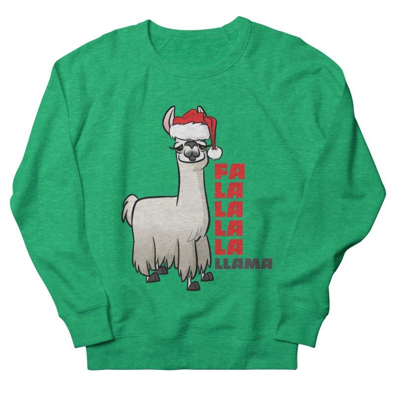 Fa La La Llama Women's Sweatshirt by binarygod's Artist Shop
