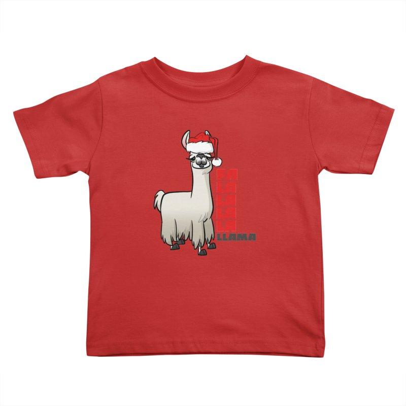 Fa La La Llama Kids Toddler T-Shirt by binarygod's Artist Shop