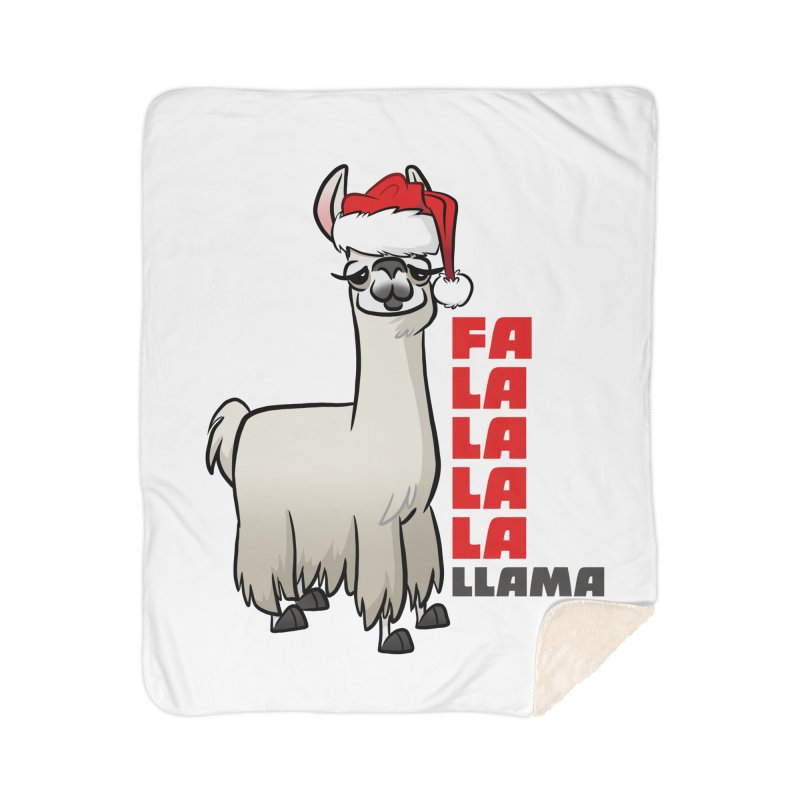 Fa La La Llama Home Blanket by binarygod's Artist Shop