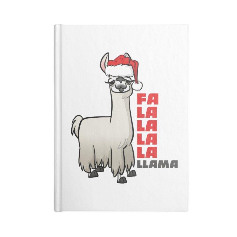 Fa La La Llama Accessories Notebook by binarygod's Artist Shop