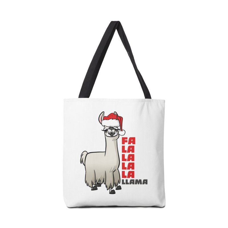 Fa La La Llama Accessories Tote Bag Bag by binarygod's Artist Shop