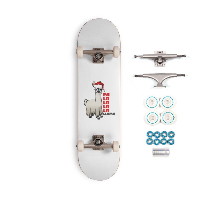 Fa La La Llama Accessories Complete - Basic Skateboard by binarygod's Artist Shop