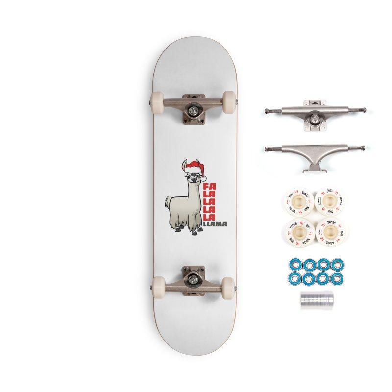 Fa La La Llama Accessories Complete - Premium Skateboard by binarygod's Artist Shop