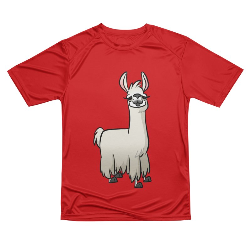 Llama Caricature Men's Performance T-Shirt by binarygod's Artist Shop
