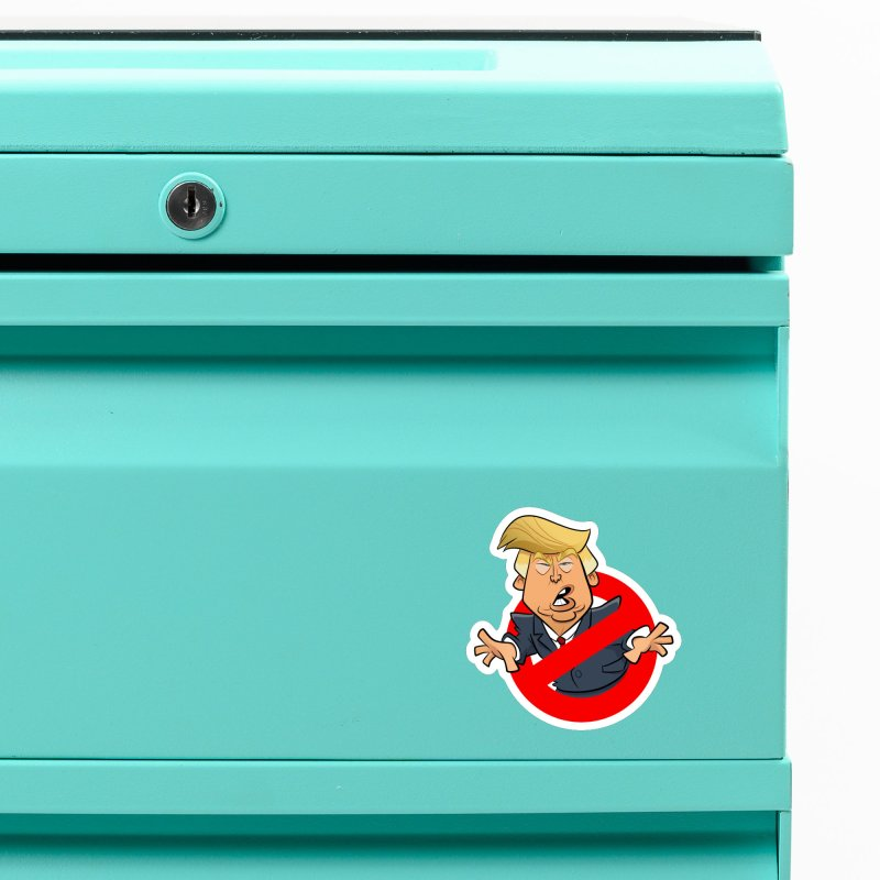 Trump Busters Accessories Magnet by binarygod's Artist Shop