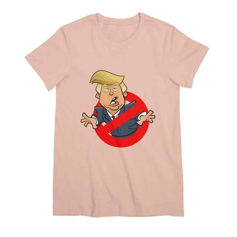 Trump Busters Women's Premium T-Shirt by binarygod's Artist Shop
