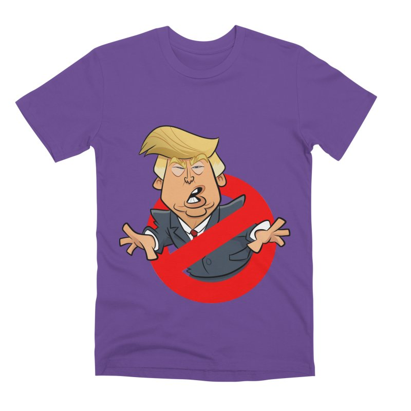 Trump Busters Men's Premium T-Shirt by binarygod's Artist Shop