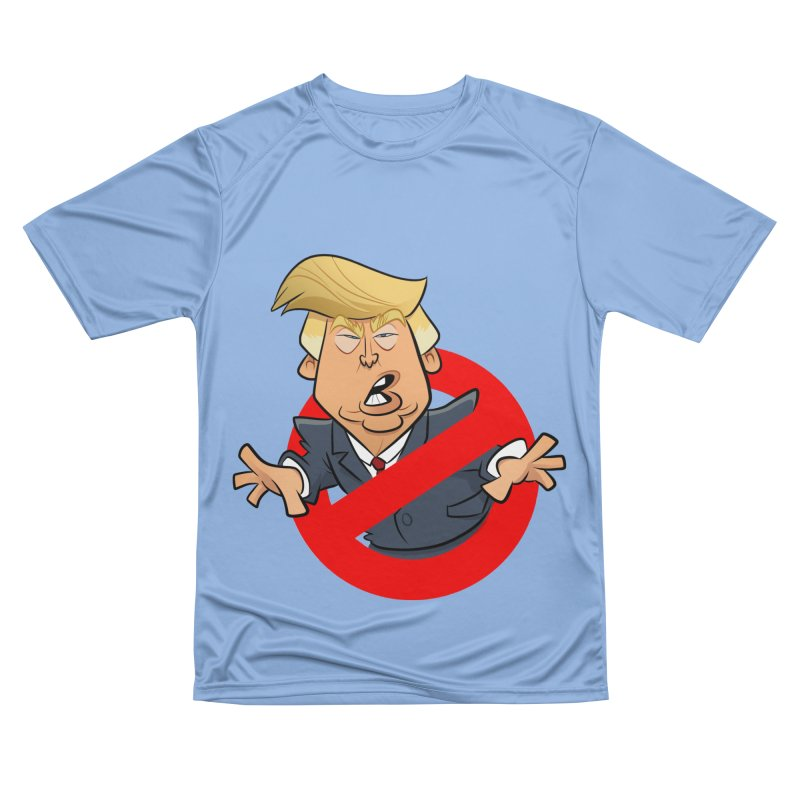 Trump Busters Men's Performance T-Shirt by binarygod's Artist Shop