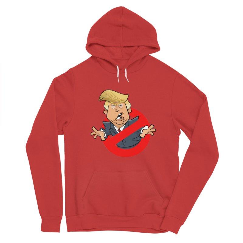 Trump Busters Men's Pullover Hoody by binarygod's Artist Shop