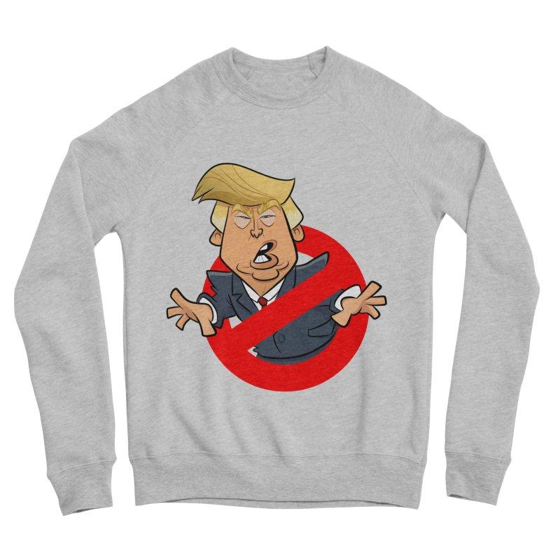 Trump Busters Women's Sponge Fleece Sweatshirt by binarygod's Artist Shop