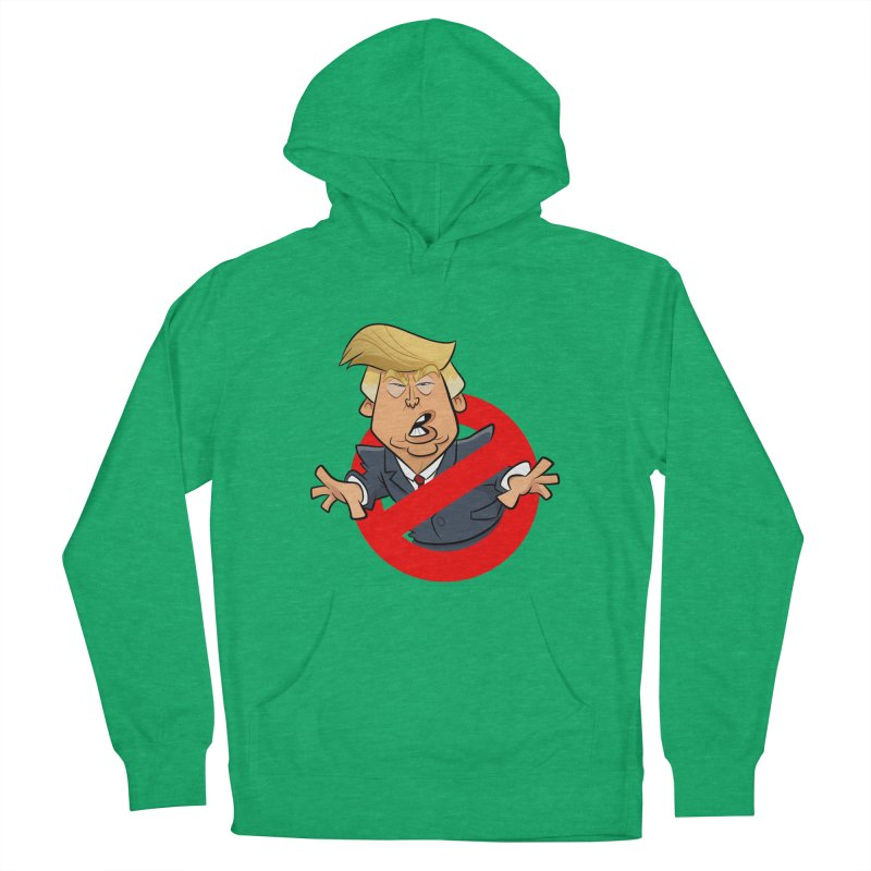 Trump Busters Women's French Terry Pullover Hoody by binarygod's Artist Shop