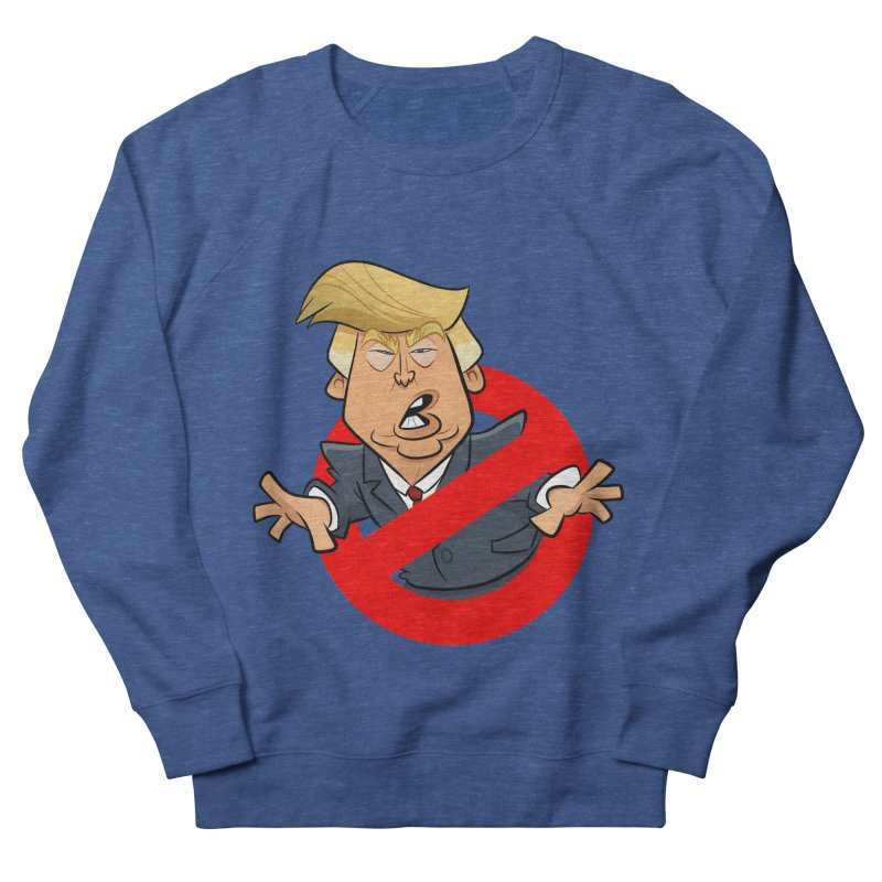 Trump Busters Men's Sweatshirt by binarygod's Artist Shop