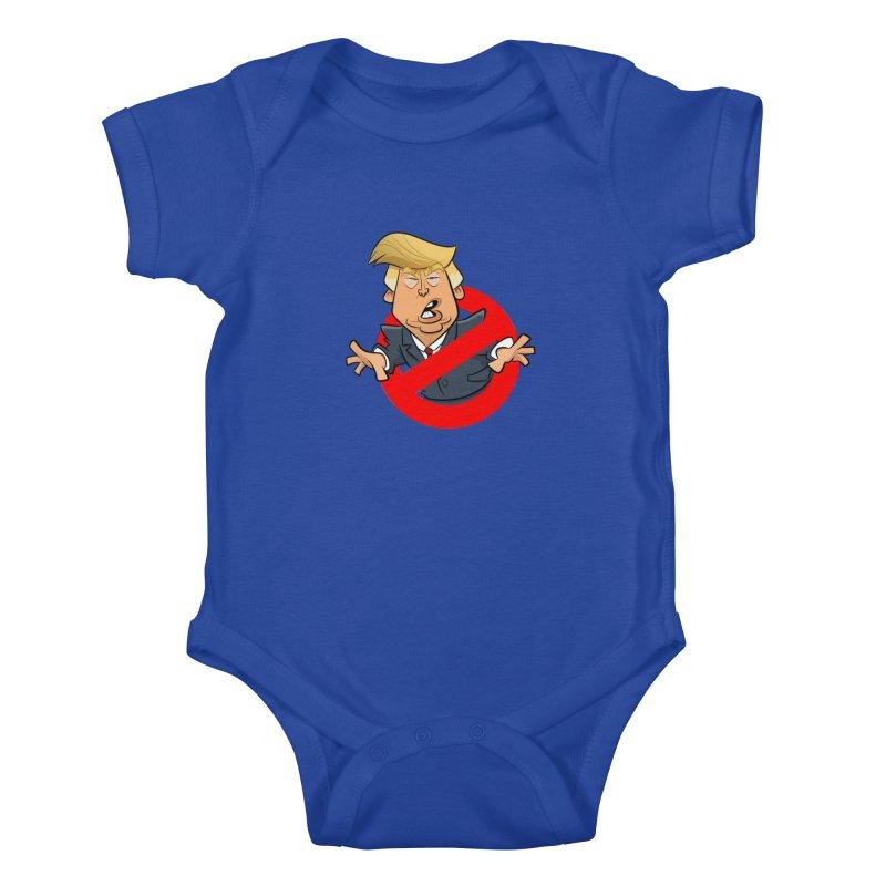 Trump Busters Kids Baby Bodysuit by binarygod's Artist Shop