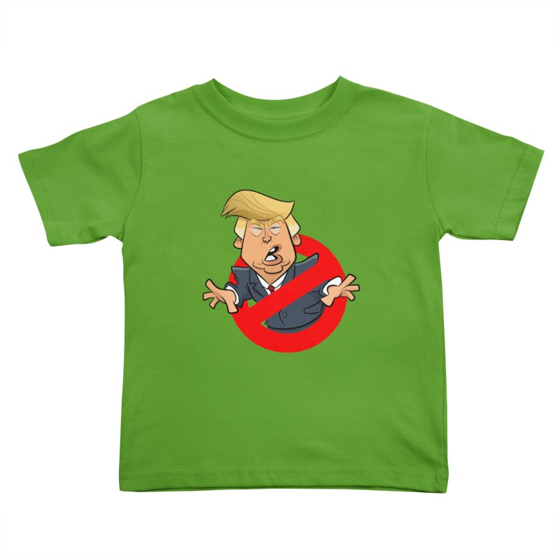 Trump Busters Kids Toddler T-Shirt by binarygod's Artist Shop