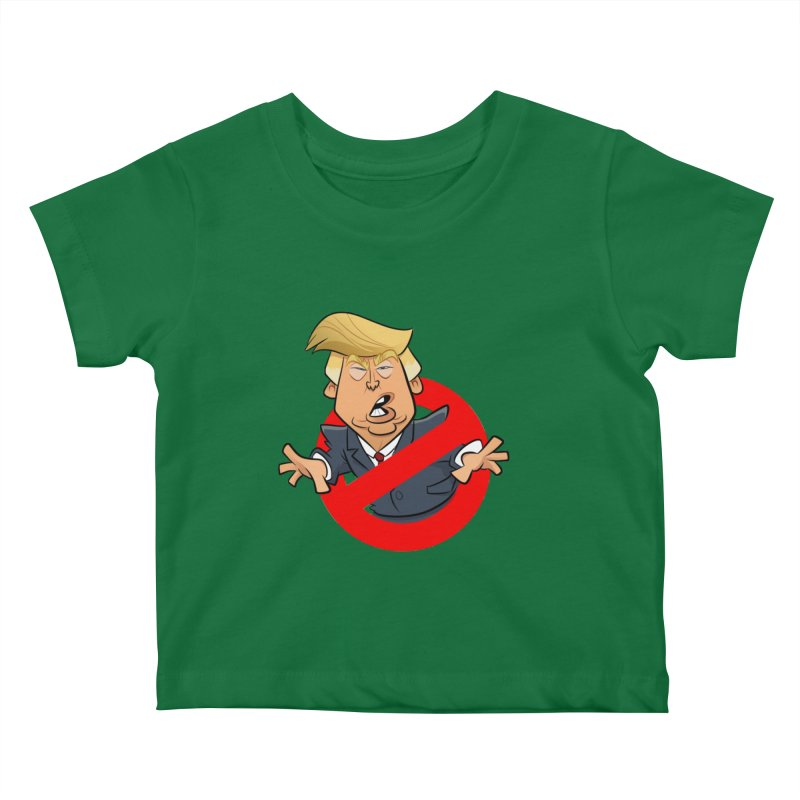 Trump Busters Kids Baby T-Shirt by binarygod's Artist Shop