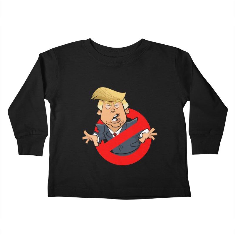 Trump Busters Kids Toddler Longsleeve T-Shirt by binarygod's Artist Shop