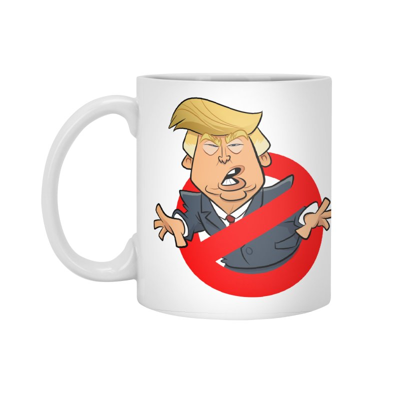 Trump Busters Accessories Standard Mug by binarygod's Artist Shop