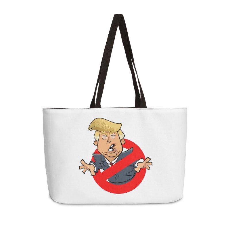 Trump Busters Accessories Weekender Bag Bag by binarygod's Artist Shop
