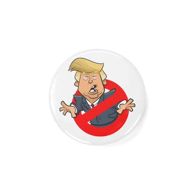 Trump Busters Accessories Button by binarygod's Artist Shop