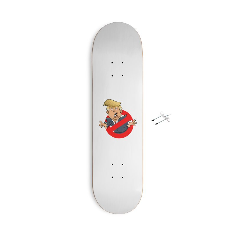 Trump Busters Accessories With Hanging Hardware Skateboard by binarygod's Artist Shop