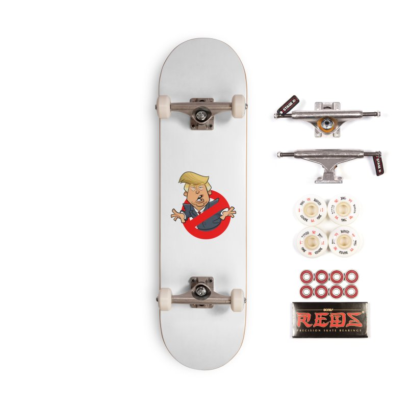 Trump Busters Accessories Complete - Pro Skateboard by binarygod's Artist Shop