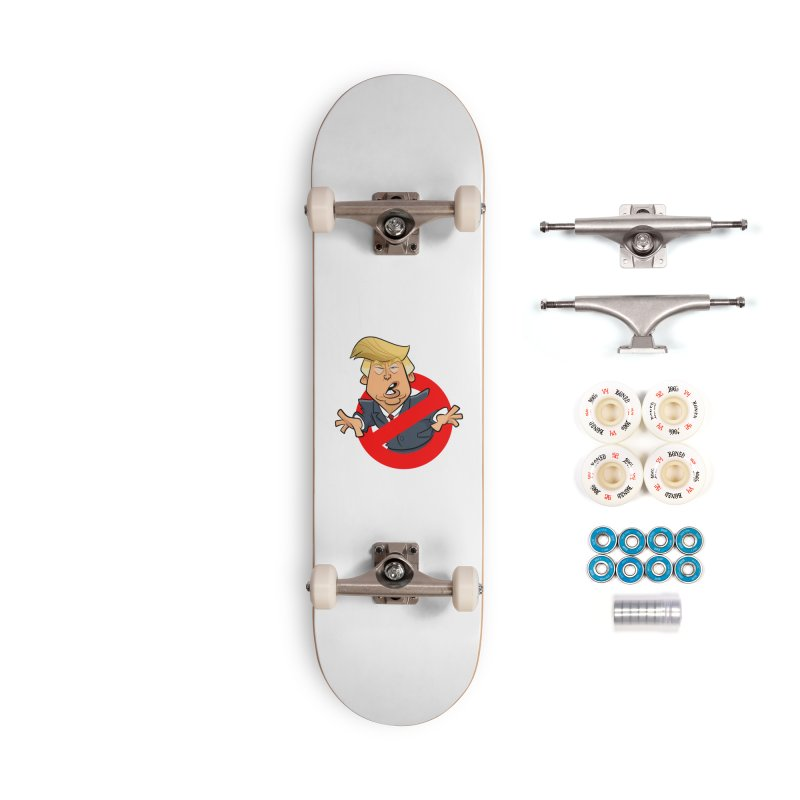Trump Busters Accessories Complete - Premium Skateboard by binarygod's Artist Shop