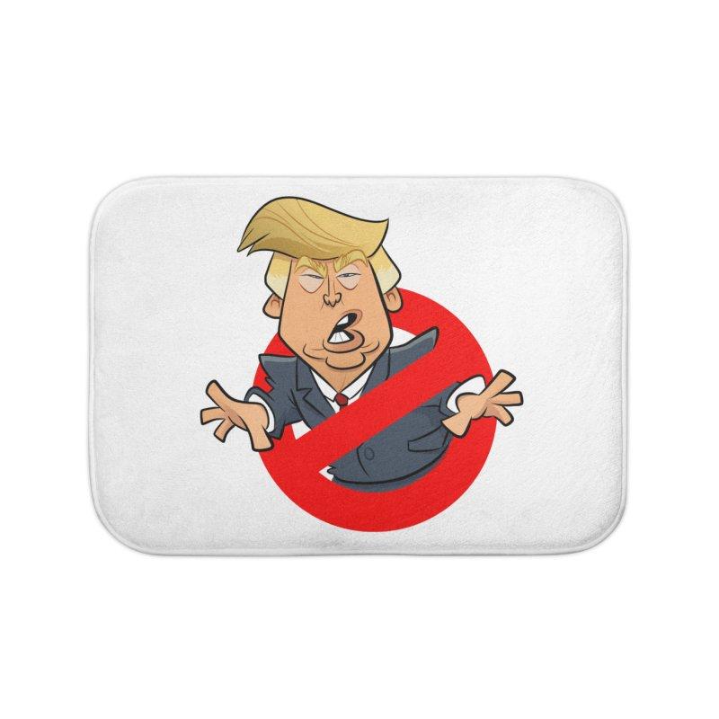 Trump Busters Home Bath Mat by binarygod's Artist Shop