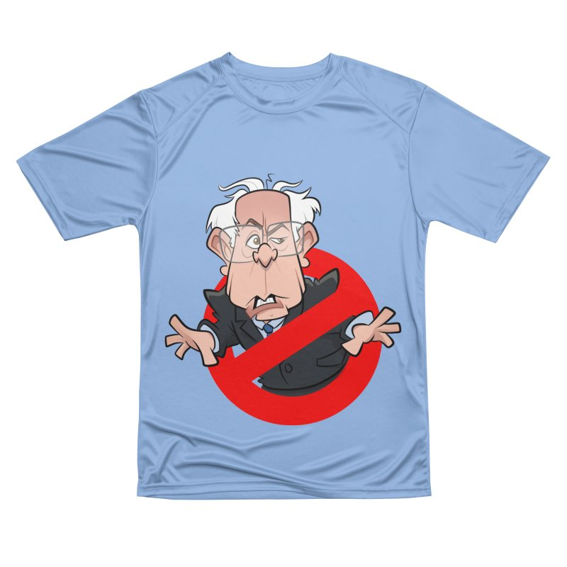 Bernie Busters Men's Performance T-Shirt by binarygod's Artist Shop