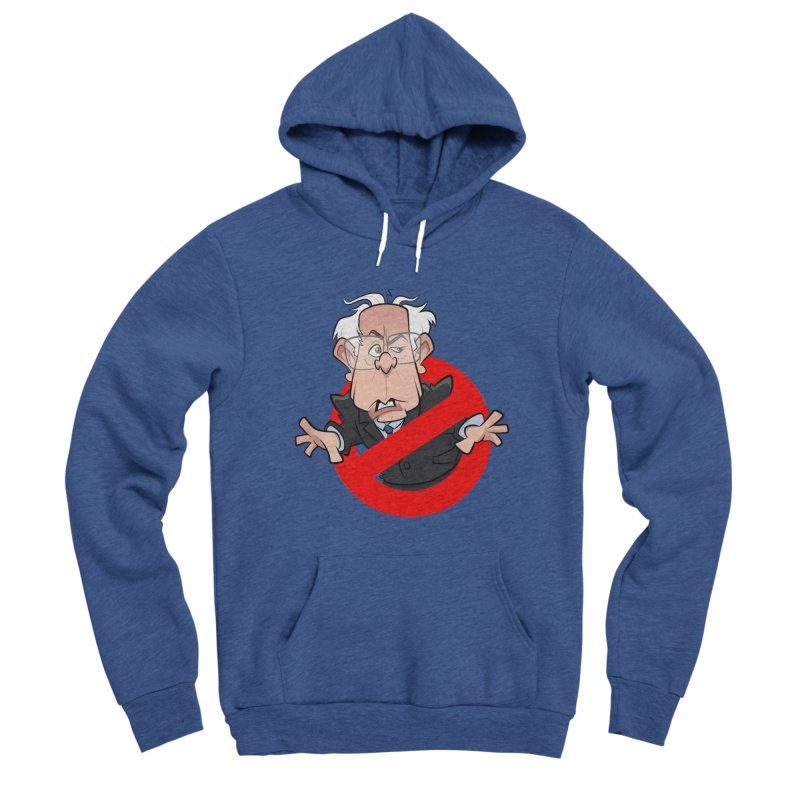 Bernie Busters Men's Sponge Fleece Pullover Hoody by binarygod's Artist Shop