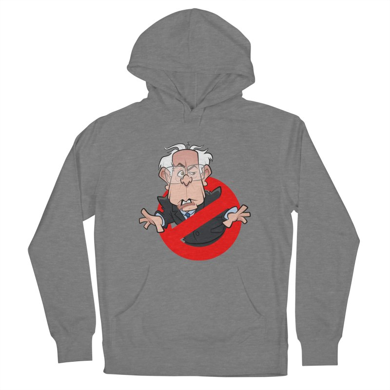 Bernie Busters Women's French Terry Pullover Hoody by binarygod's Artist Shop