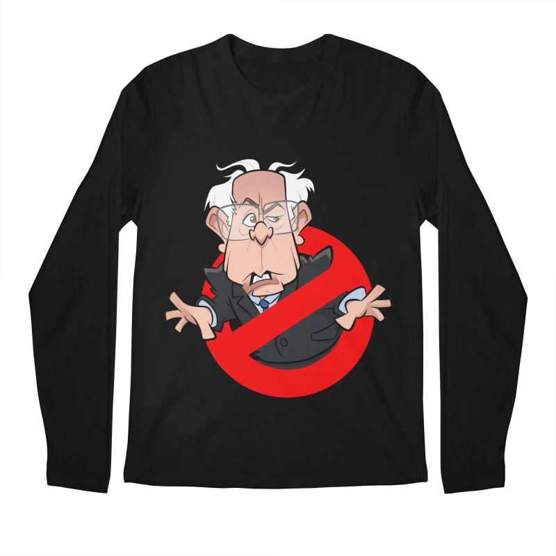 Bernie Busters Men's Regular Longsleeve T-Shirt by binarygod's Artist Shop