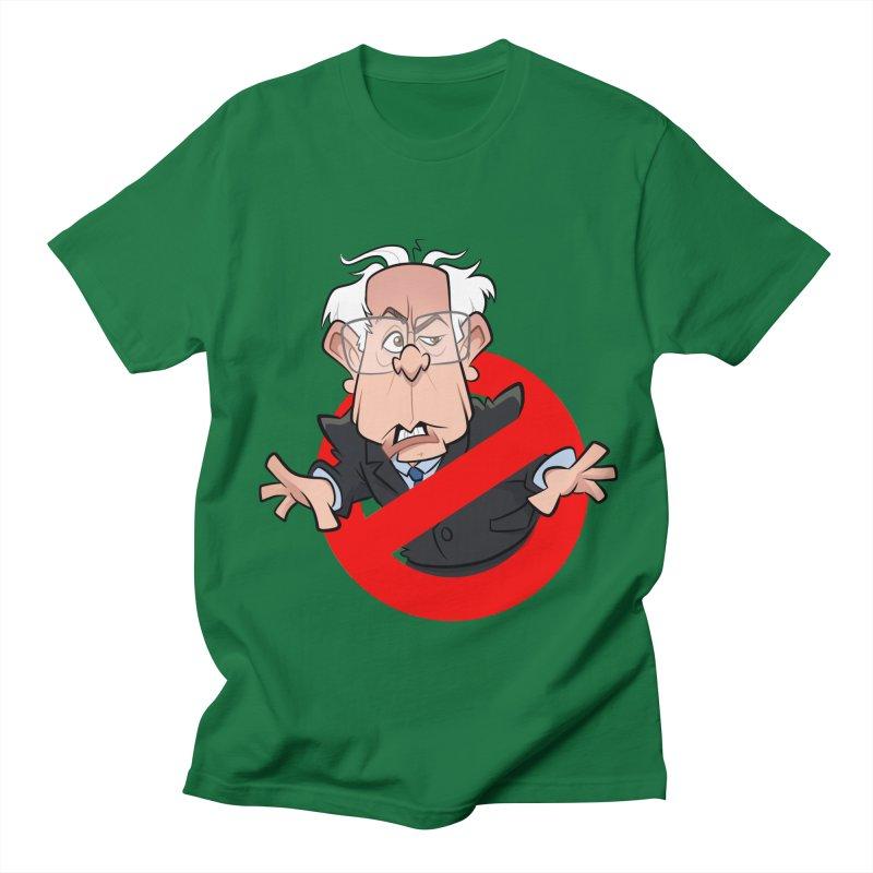 Bernie Busters Men's Regular T-Shirt by binarygod's Artist Shop