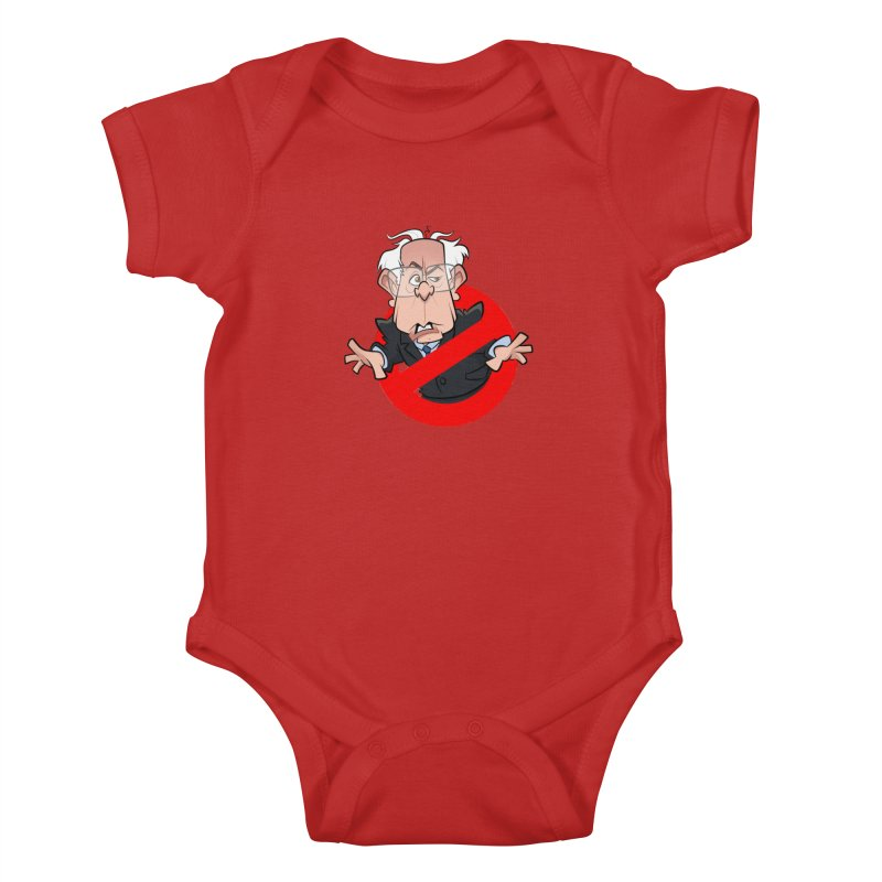 Bernie Busters Kids Baby Bodysuit by binarygod's Artist Shop