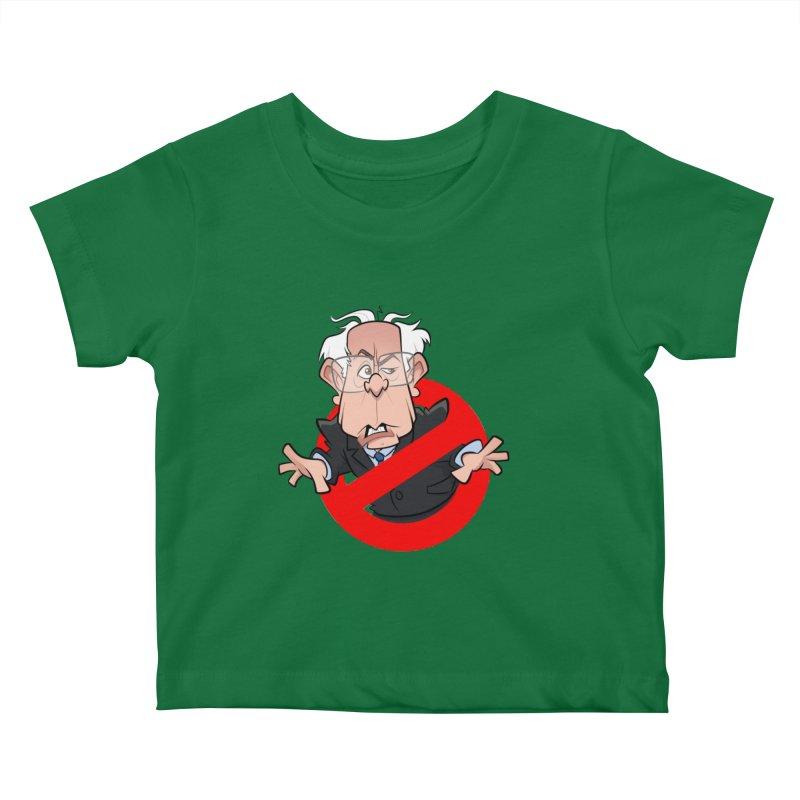 Bernie Busters Kids Baby T-Shirt by binarygod's Artist Shop