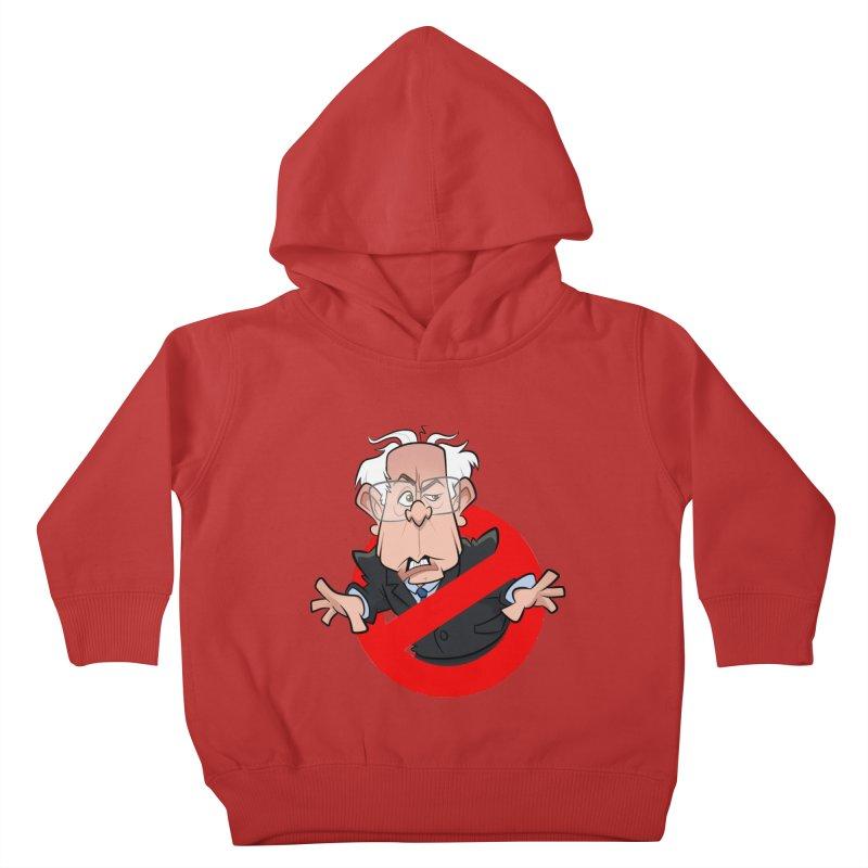 Bernie Busters Kids Toddler Pullover Hoody by binarygod's Artist Shop