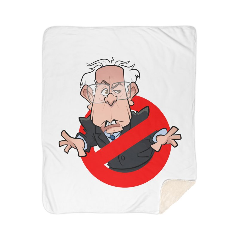 Bernie Busters Home Blanket by binarygod's Artist Shop