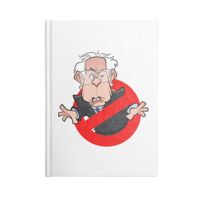 Bernie Busters Accessories Blank Journal Notebook by binarygod's Artist Shop