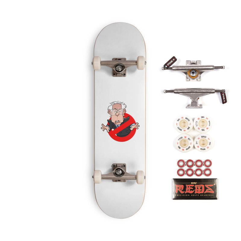 Bernie Busters Accessories Complete - Pro Skateboard by binarygod's Artist Shop