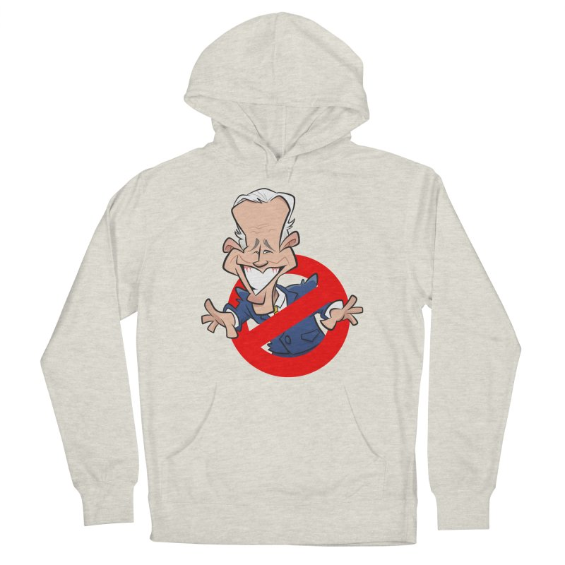 Biden Busters Men's French Terry Pullover Hoody by binarygod's Artist Shop