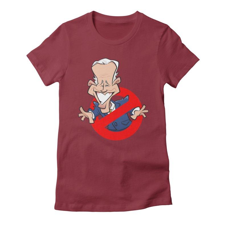 Biden Busters Women's Fitted T-Shirt by binarygod's Artist Shop