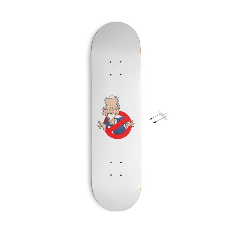 Biden Busters Accessories With Hanging Hardware Skateboard by binarygod's Artist Shop