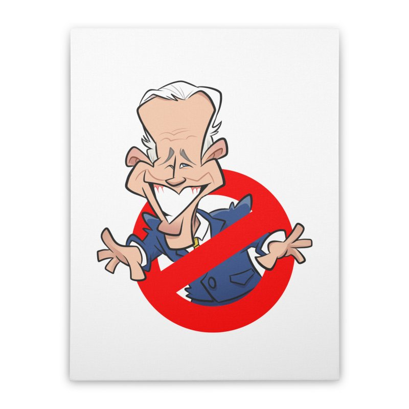 Biden Busters Home Stretched Canvas by binarygod's Artist Shop