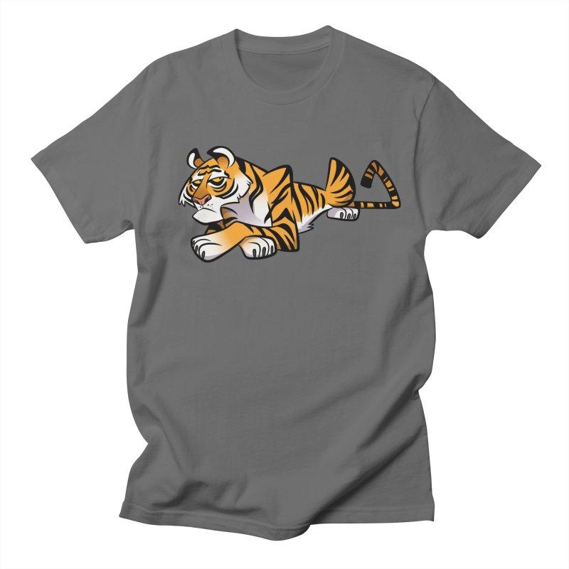 Tiger Caricature Women's T-Shirt by binarygod's Artist Shop