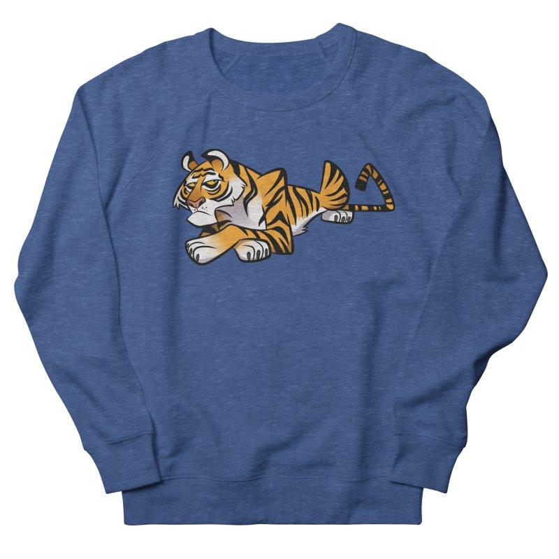 Tiger Caricature Men's Sweatshirt by binarygod's Artist Shop