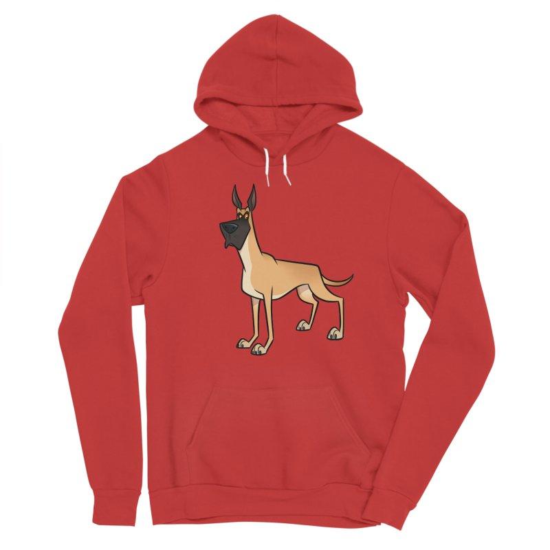 Great Dane Men's Pullover Hoody by binarygod's Artist Shop