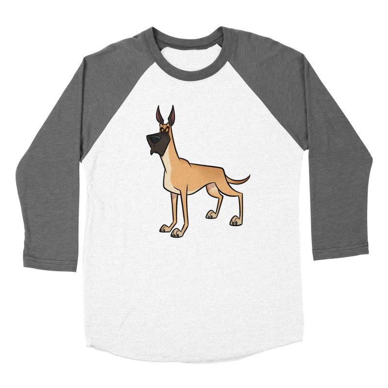 Great Dane Women's Longsleeve T-Shirt by binarygod's Artist Shop