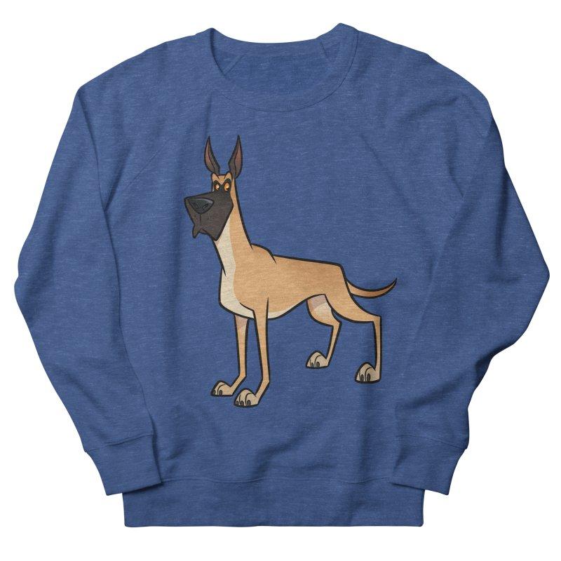 Great Dane Men's Sweatshirt by binarygod's Artist Shop
