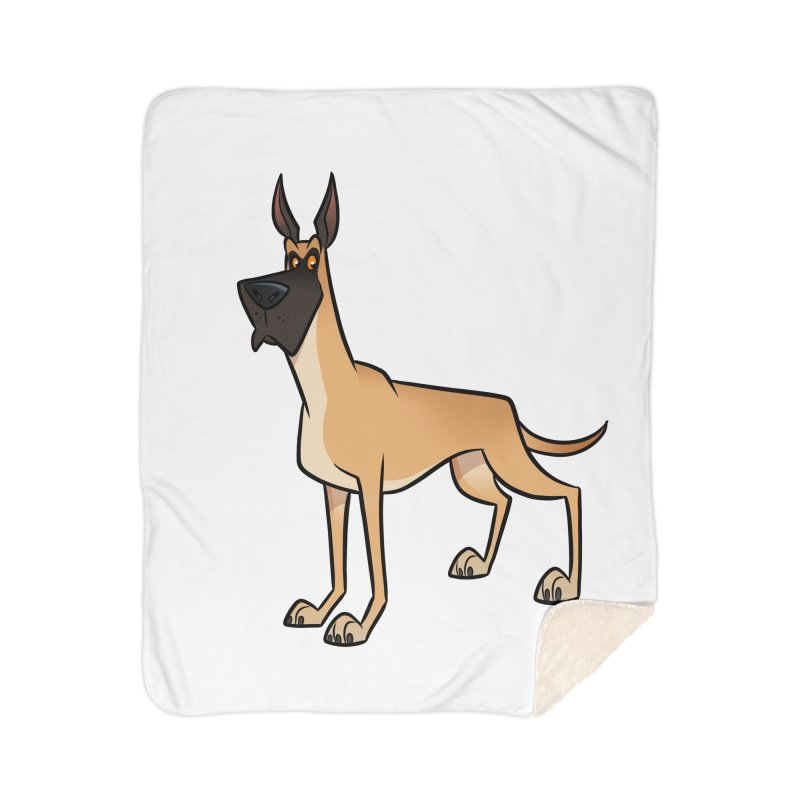 Great Dane Home Blanket by binarygod's Artist Shop